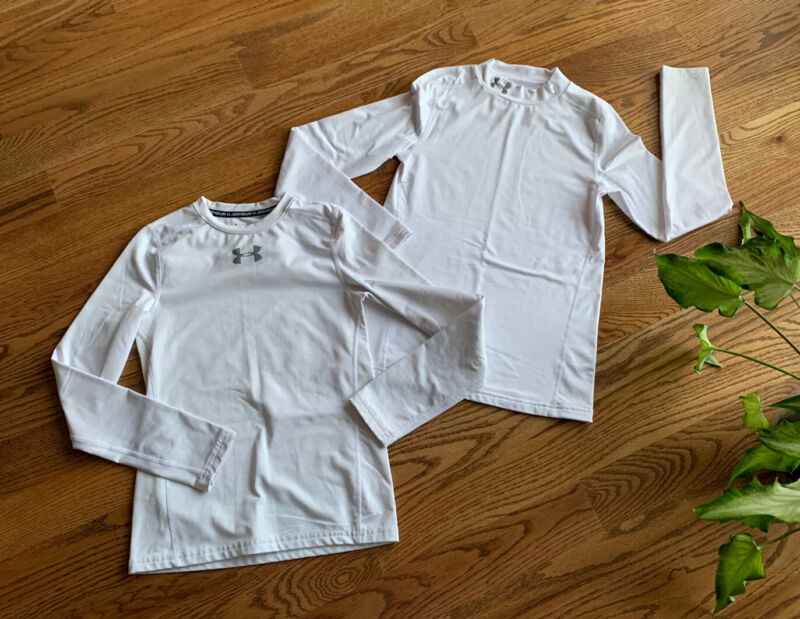 Under Armour Base Layer Fitted Mock Shirts Boy