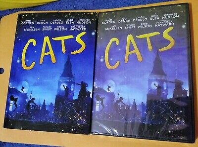 GENUINE USA CATS 2019 TOM HOOPER JUDI DENCH DVD WITH SLIPCOVER NEW FREE SHIP