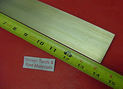 14 X 1-12 C360 Brass Flat Bar 14 Long Solid .25 Plate Mill Stock H02