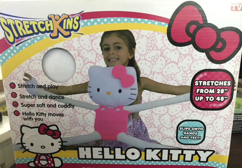 Hello Kitty Stretchkins New In Box!