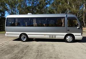 1994 Toyota Coaster LWB, Turbo 6cyl Diesel, AUTOMATIC, Motorhome Casino Richmond Valley Preview