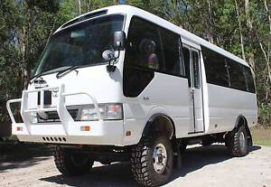 Toyota Coaster 4x4 Tourbus or Motorhome, 4wd bus!!! Shannon Brook Richmond Valley Preview