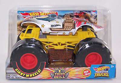 2020 Hot Wheels 1:24 TWIN MILL - Dual V8's - Diecast Monster Truck - NEW