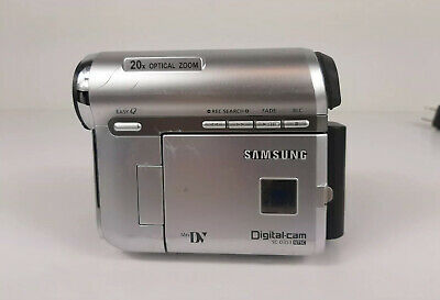 Samsung SC-D353 Mini-DV Digital Camcorder Player NTSC w/ Battery & AC Power