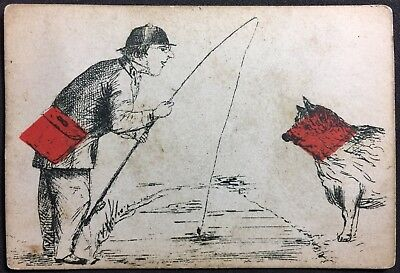 c1862 Historic Maclure Macdonald & Macgregor Transformation Playing Cards Single