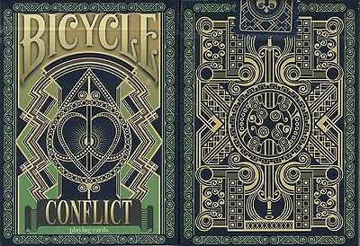 Conflict Bicycle Playing Cards Poker Size Deck USPCC Custom Limited Edition New