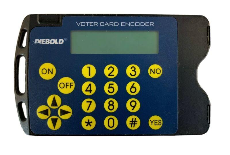Diebold Voter Card Encoder Voting Machine