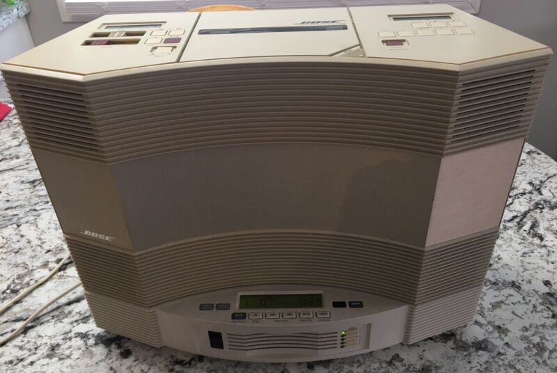 BOSE Acoustic Wave Music System II W/ 5 DISC CD Player Changer Tested