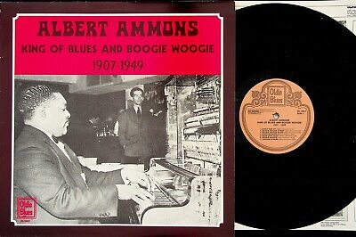 Albert Ammons ‎– The King Of Blues And Boogie Woogie LP (Best of/Piano) OL