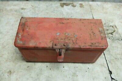 Ford 2n 2 N Tractor Tool Kit Set Fender Storage Box