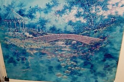 """NANCY SIRKO """"VISIONS OF MONET"""" LIMITED EDITION COLOR LITHOGRAPH"""