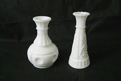 3 Available Buttons And Bars Bubble Ribbed Pattern Sold Separately Anchor Hocking Mini Vase