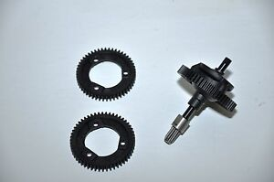 Traxxas Slash or Stampede 4wd 4x4 Center Differential Diff Kit w/ 3 Gears
