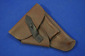 SUPERB! WWII GERMAN ERSATZ PAPER HOLSTER FOR WALTHER PP PISTOL
