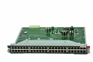 CISCO Catalyst 4000 4500 series 48 port 10/100 switch module WS-X4148-RJ