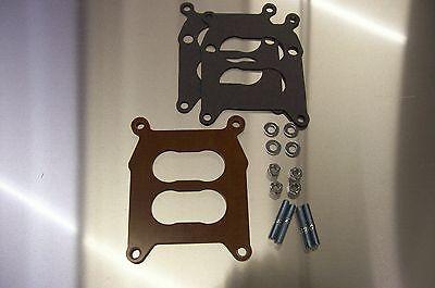 For Rochester 4gc Phenolic Carburetor Insulator Spacer 4 Barrel Heat Soak Riser