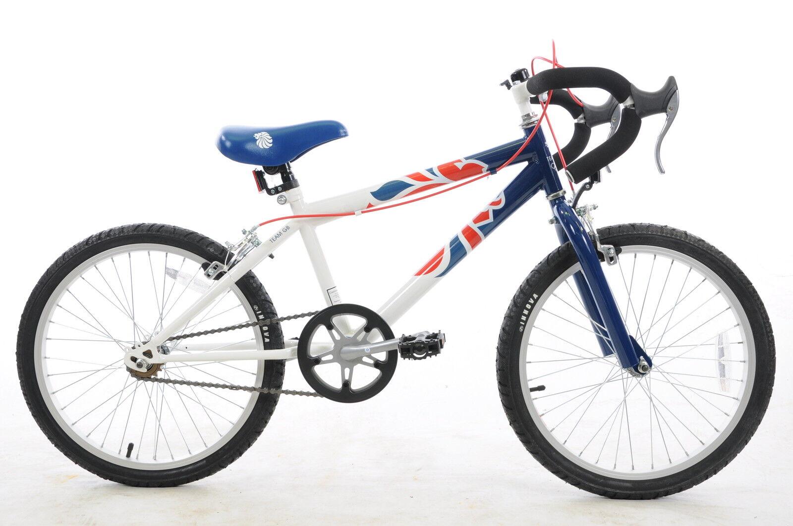 "Olympics Team Gb 20"" Wheel Junior Racing Sports Bike Ex-display"