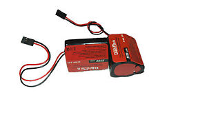 2 6V 2500 HUMP NiMH BATTERY PACK 4 RC AIRPLANES, BOATS, CARS