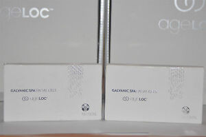 New-NU-SKIN-Nuskin-Galvanic-spa-2X-facial-gels-with-AGELOC