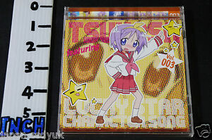 JAPAN-CD-Lucky-Star-Character-Song-vol-3-Tsukasa-Hiiragi