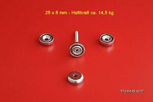 1-pz-NEODYM-MAGNETE-25x8mm-14-5KG-Magnete-Piatto-resistente-MAGNETE-CON-FORO
