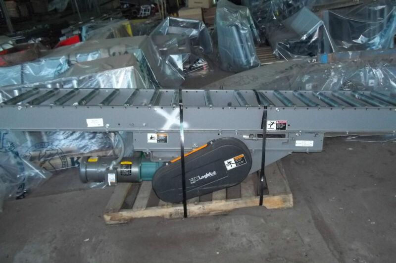 FKI Logistex M2375 112 Inch  Roller / Baldor 1 1/2 hp motor