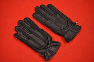 NOS Vintage Black MX Motocross Racing Gloves, LARGE, AHRMA