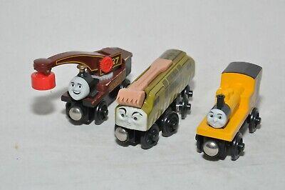 HARVEY + DIESEL 10 + DUNCAN / Thomas wooden trains (2003-2008)