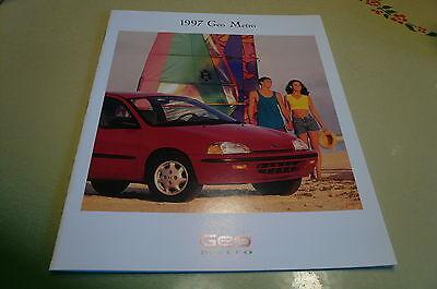 1997 Chevrolet Geo Metro Sales Brochure
