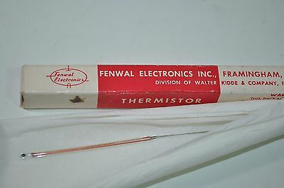 NEW Fenwal Electronics Thermistor Temp Probe Model# GA71P18 Fenwal Electronics