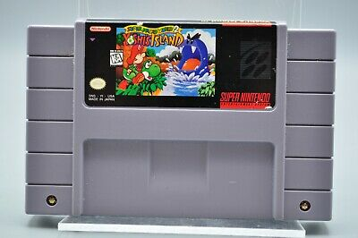 Snes (Super Nintendo Entertainment System) Yoshi's Island Tested Working
