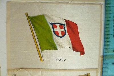B.D.V. Cigarettes Silk FLAG - ITALY FLAG (apx. 7x5 cm)