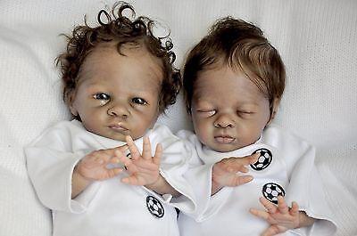 Reborn doll kit twin set Buttercup & Poppy by Bonnie Brown