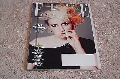 Lena Dunham   The Women In Tv Issue February 2015 Elle Magazine