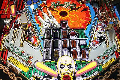 Become a creepy pinball wizard with the Addams family
