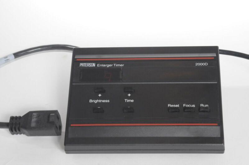 darkroom time Paterson, Model 2000-D precision enlarger timer