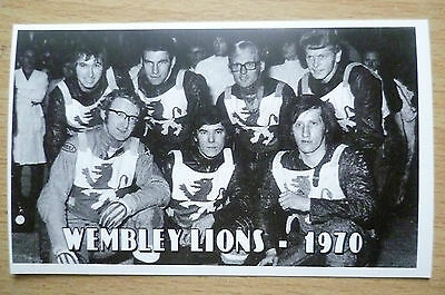 Speedway History Cards- WEMBLEY LIONS 1970, No.10