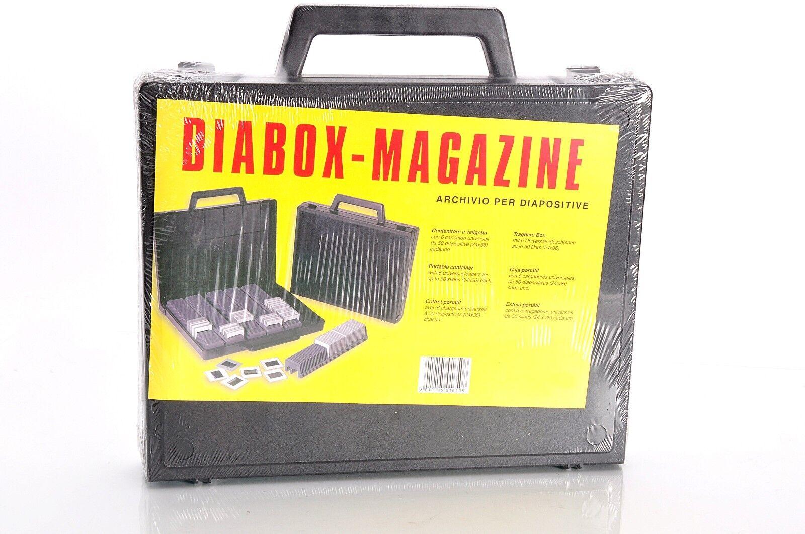 Valigetta  Box Portadia /  Archivio per Diapositive 6 X 50