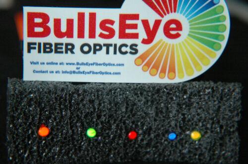 4 Fiberoptic replacement fiber rods .060 1.5mm 4 colors fits Dawson sights CRAFT