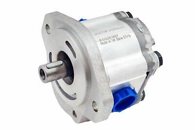 Hydraulic Gear Pump 2-6 Gpm 34 Keyed Shaft Sae A-2 Bolts Ccw Aluminium New