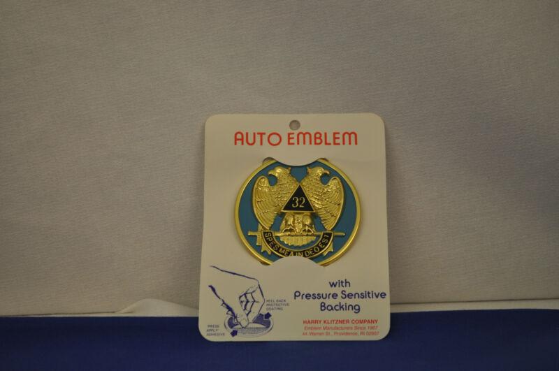 Freemason Auto Emblem