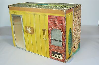 Vintage 1963 Barbie New Dream House By Mattel cardboard doll house