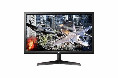 """LG 24"""" FHD Gaming Monitor AMD Freesync 1920x1080 HDMI DP 144hz 1ms 24GN50W - LN™"""
