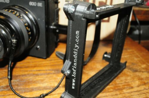 Lo-Fi 45G   Graflex 4x5 sheet film holder back for Mamiya Universal Press!