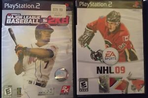 Play Station 2 MLB-NHL-PacMan-