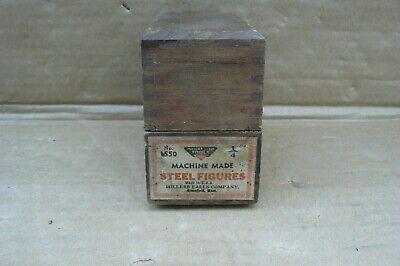 """36pcs 5//32/"""" Letter Number Stamp Set Kit Punch Key Marker Wood Metal Leather New"""