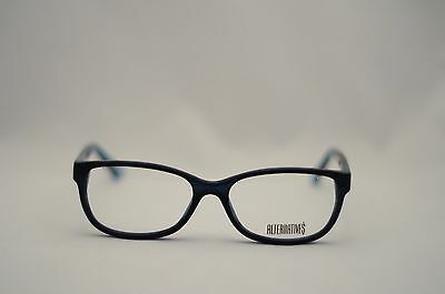 EUROPA EYEWEAR ALTERNATIVES ALT-66 NAVY JADE CAT EYE FRAME EYEGLASSES NEW