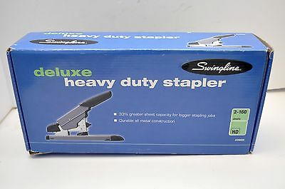 Heavy Duty Swingline 39005 Deluxe Stapler 160 Sheet Metal Construction