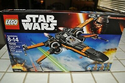 Lego, Star Wars, Poe's X-Wing Fighter #75102     ( Brand New & Factory Sealed )