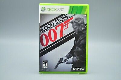 007: Blood Stone (Microsoft Xbox 360, 2010) TESTED Free Shipping - No Manual